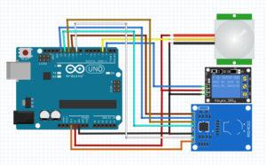 arduino-rfid_rc522-pir_hc-sr501-1ch_relay